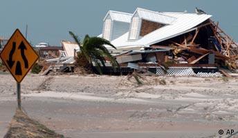 Hurrikan Katrina, zerstörtes Haus