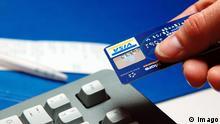 Deutschland Zahlung per Kreditkarte Visakarte