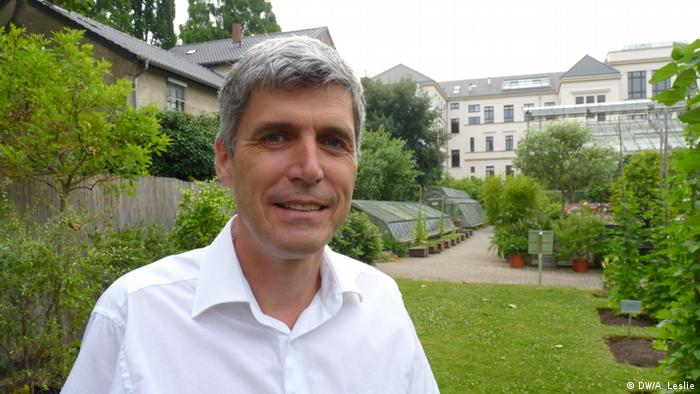 Frank Ewert, Professor for Crop Science at the University of Bonn in July 2013