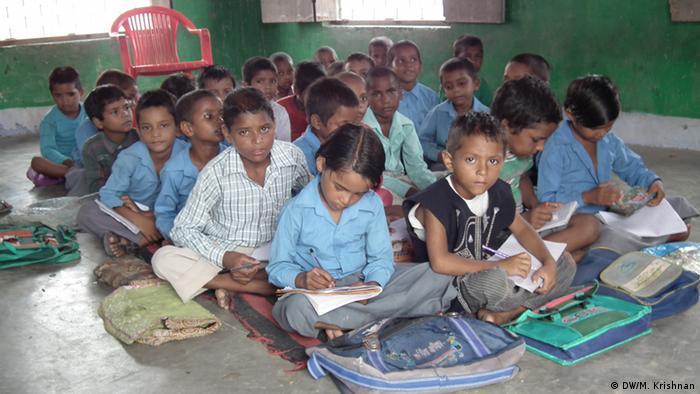 Indien Schule in Vrindavan (DW/M. Krishnan)