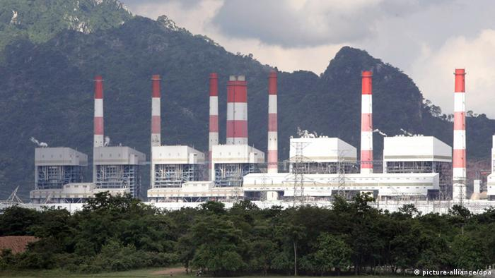 A coal power plant in Thailand