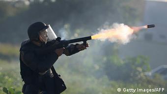Tränengas Brasilien
