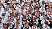 Erster Schultag in Kuba 2012