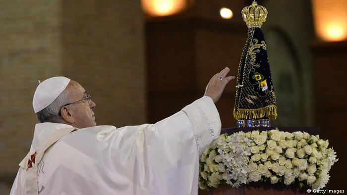 Papst Franziskus in Brasilien (Getty Images)