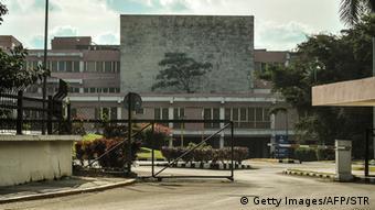 Das Krankenhaus in Havanna, in dem sich angeblich auch Hugo Chavez behandeln ließ (Foto: AFP/Getty Images)