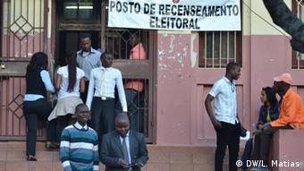 Wählerregistrierung in Maputo