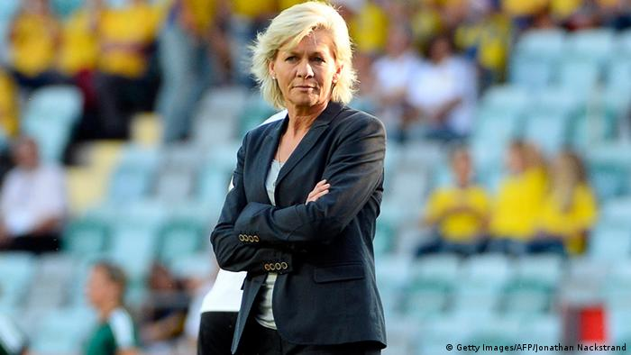 Germany's head coach Silvia Neid