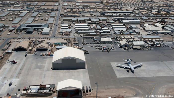 Luftaufnahme über Camp Marmal in Masar-i-Sharif (Foto: Fabrizio Bensch/dpa)