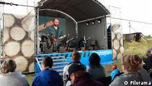 Open Air Musik Festival im Rahmen des Pilorama Forum in Perm, Russland, Juli 2013