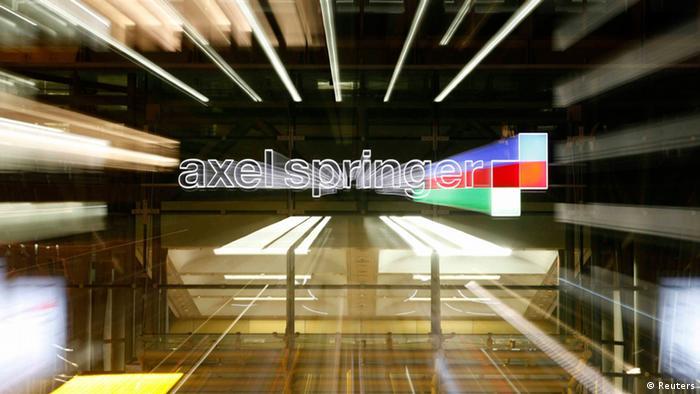 Der Axel Springer Hauptsitz in Berlin (Foto: Reuters)