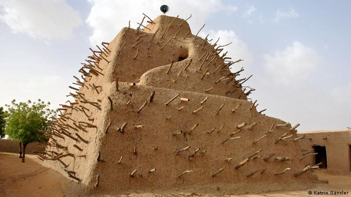 Das Grabmal von Askia in Gao Mali. (Foto: Katrin Gänsler)