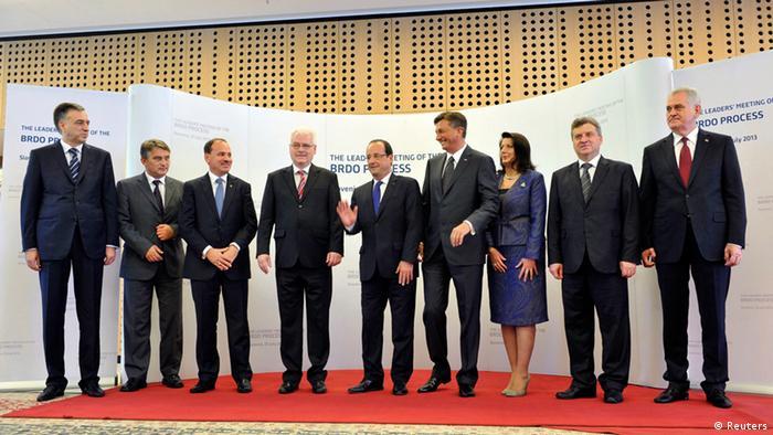 Balkan Präsidenten Brdo Prozess 25.07.2013