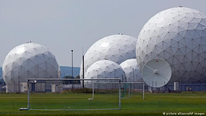 مرکز پیشین مراقبت و شنود آژانس امنیت ملی آمریکا در باد آیبلینگ در نزدیکی مونیخ آلمان.