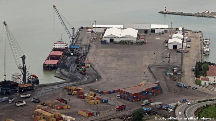 Ein Teil des Hafens in Trabzon. (Foto: Sebastian Wilke/Bundeswehr)