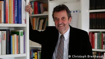 Historiker Josef Foschepoth, Autor des Buches Überwachtes Deutschland (Foto: Christoph Breithaupt)
