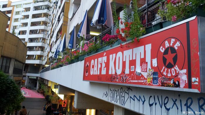Café Kotti near Kottbusser Tor in Berlin