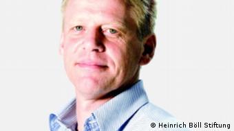 Joachim Paul Leiter der Heinrich Böll Stiftung in Tunis QUALITÄT