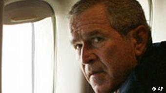 George Bush Hurrikan Katrina