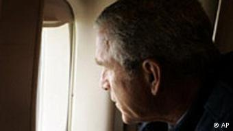 George Bush Hurrikan Katrina