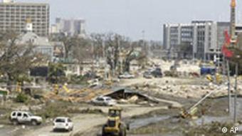 Hurrikan Katrina Lage in Biloxi