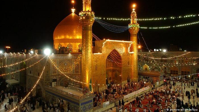Imam-Ali-Schrein in Nadschaf (picture-alliance/dpa)