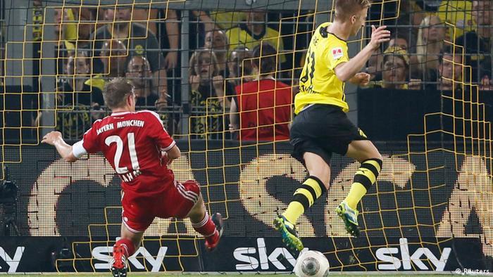 Vruća utakmica - Superkup između Borussije i Bayerna. S vrućinom očito bolje izlaze na kraju nogometaši Dortmunda: oni su na kraju slavili pobjedu od 4:2