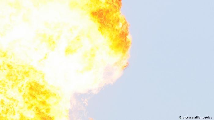Пожежу на газопроводі у Сумах ймовірно влаштував місцевий пенсіонер