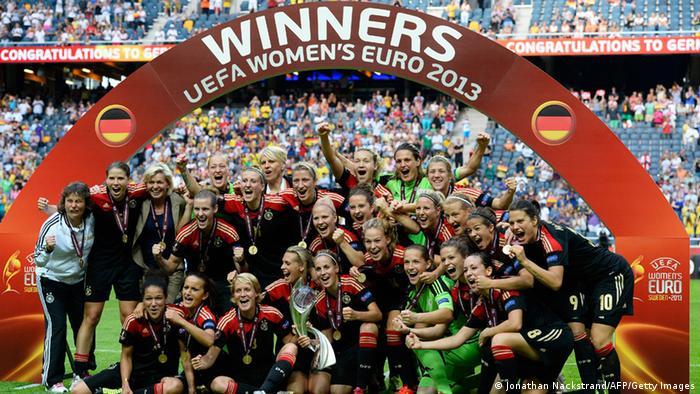 Женская сборная Германии - чемпион Европы 2013 года