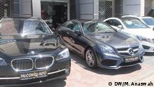 Jordanien Autohändler Mercedes