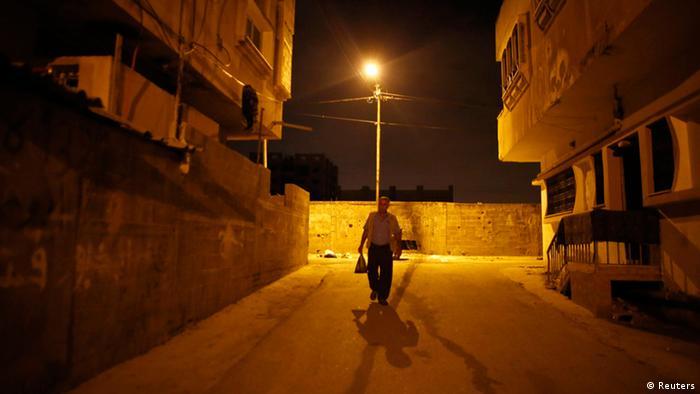 Taysir Sharif Abu Hader beginnt seine Reise. (Foto: Reuters)