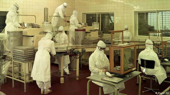 Bayer Leverkusen Penicillin Produktion