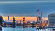 Bildergalerie Deutsche Großstädte am Abend