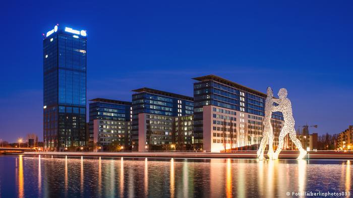 Жилой комплекс Treptowers в Берлине