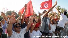 Tunesien Demonstration