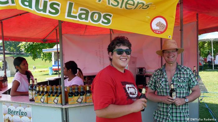 Пиво из Лаоса