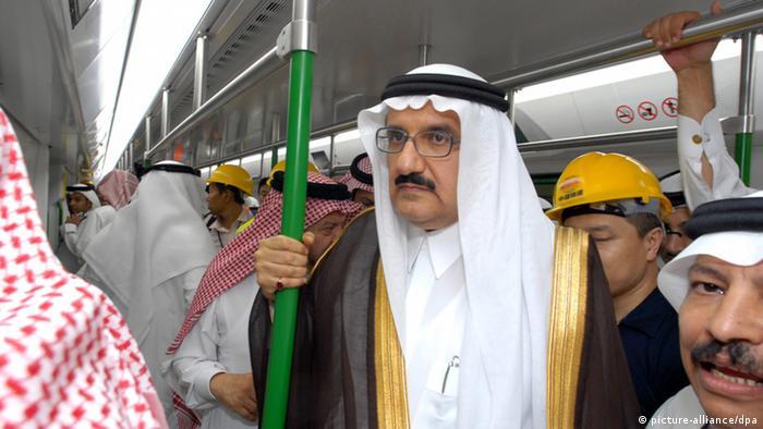 Symbolbild Saudi-Arabien Mekka plant U-Bahn (picture-alliance/dpa)