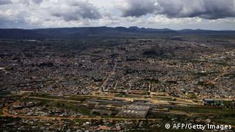 A general view of the Angolan city of Lubango (Photo: GIANLUIGI GUERCIA/AFP/Getty Images)