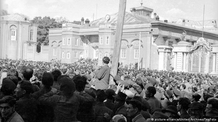 Demonstracije protiv Anglo - Persian Oil Company, 16.april 1951.