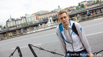 Sergey Androsenko from Minsk (photo: Volha Malafeyechava).