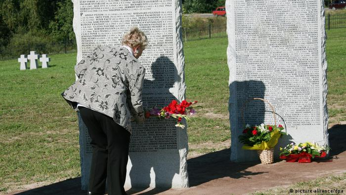 Немецкое военное кладбище в Себеже, Россия