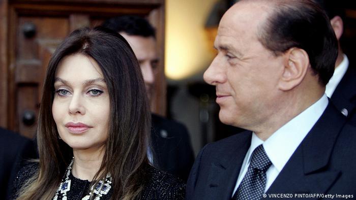 Italien Berlusconis Skandale Veronica Lario