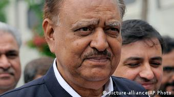Mamnoon Hussain neuer Präsident Pakistan 24.07.2013 ARCHIV (picture-alliance/AP Photo)