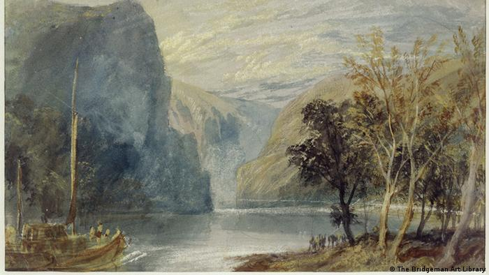 William Turner's painting, 'The Lorelei Rock'