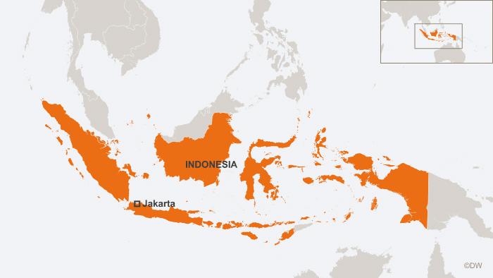 30.07.2013 DW online Karten Indonesien Jakarta englisch
