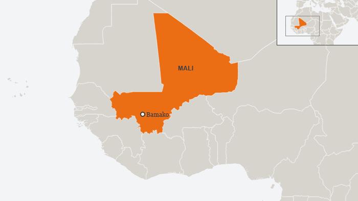 Karte Mali Bamako