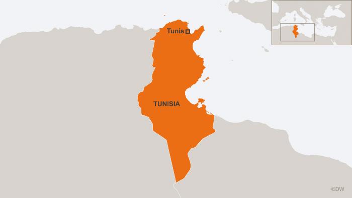 30.07.2013 DW online Karten Tunesien Tunis englisch