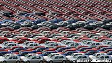 Parkplatz VW Wagen Autos