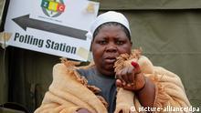 Simbabwe Wahlen 31.07.2013