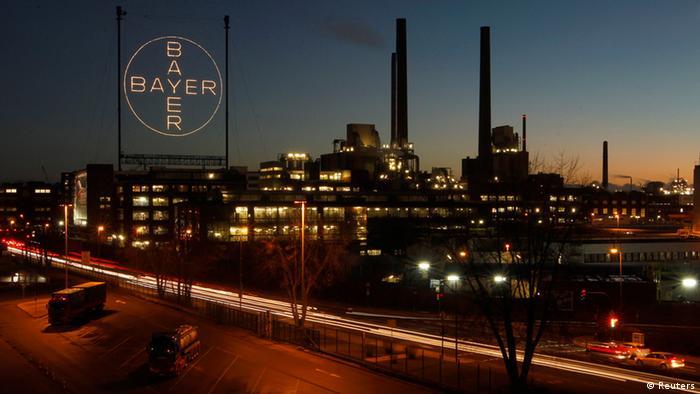 Завод Bayer в Леверкузене