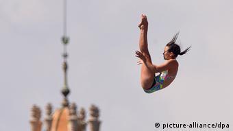 Anna Bader of Germany in action Foto: David Ebener/dpa +++(c) dpa - Bildfunk+++